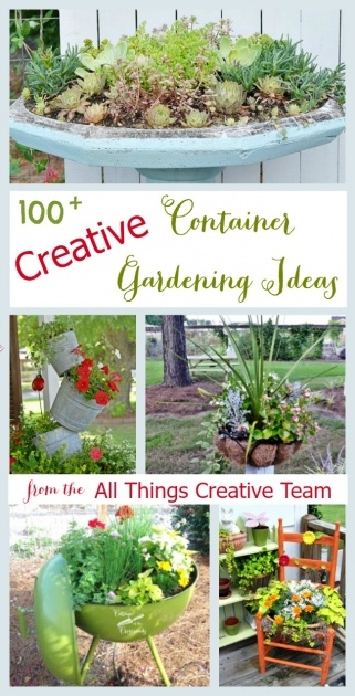 Simple Creative Planter Ideas Picture