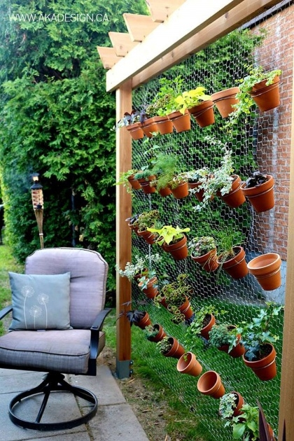 Simple Outdoor Wall Planters Image