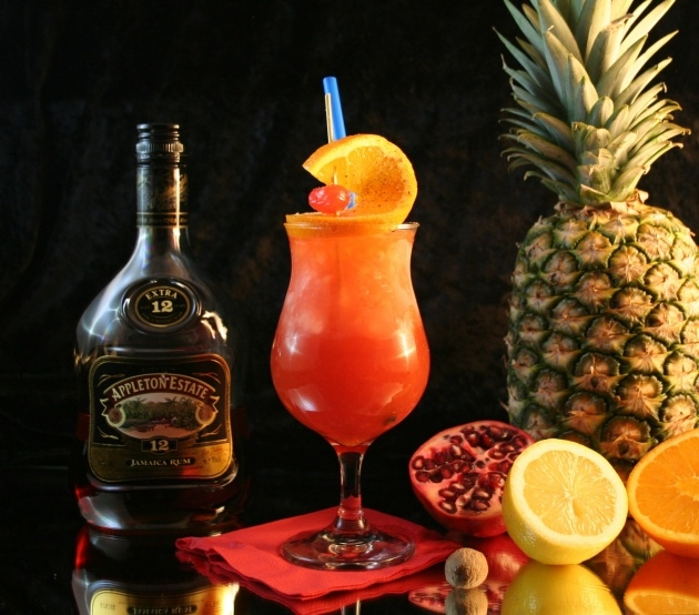Simple Planters Punch Cocktail Picture