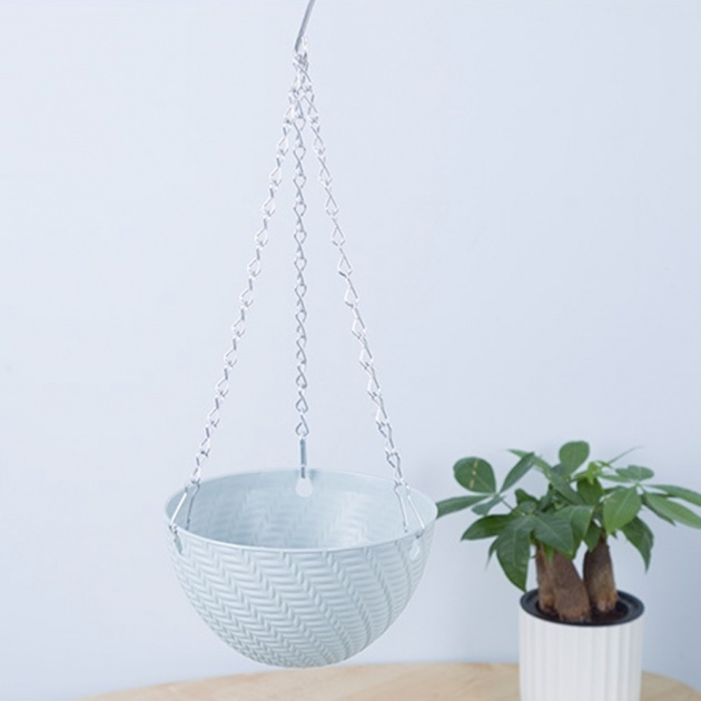 Simple Plastic Hanging Planters Image