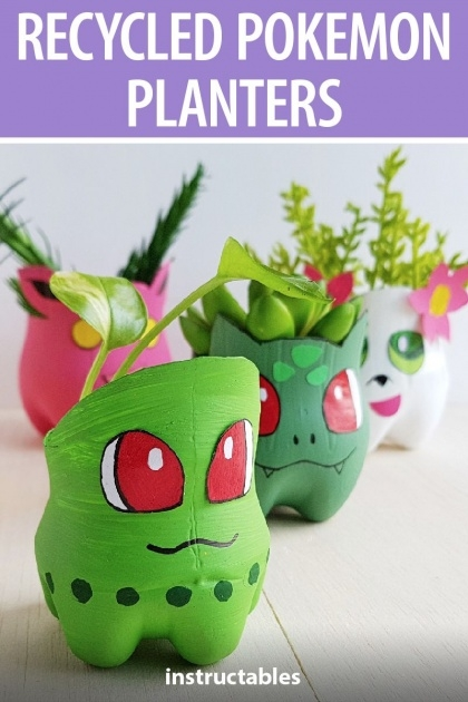 Simple Recycled Plastic Planters Picture
