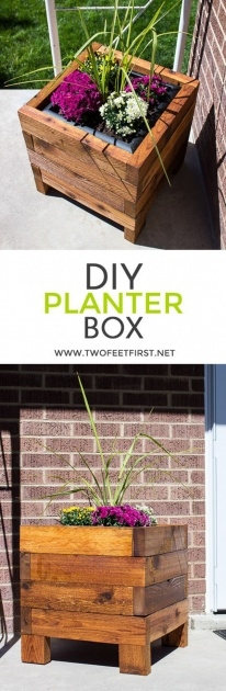Simple Small Planter Box Ideas Picture