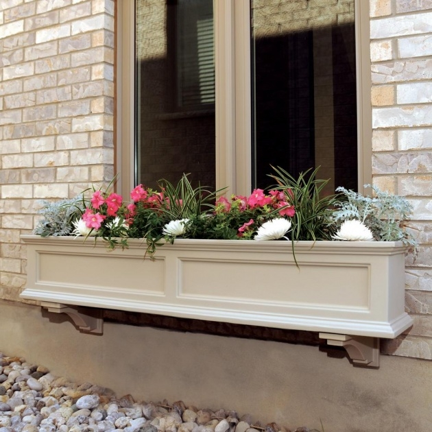 Simple Window Planter Box Picture