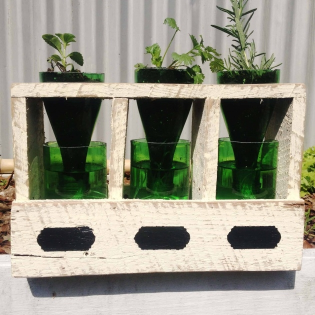 Splendid How To Make A Self Watering Planter Photo