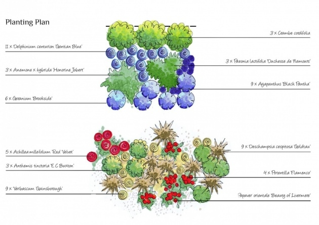 Splendid Planting Design Plan Image