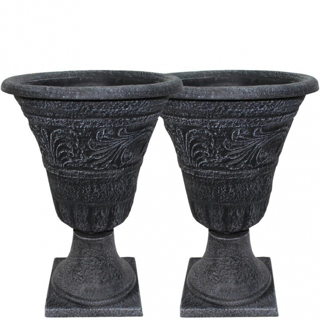 Splendid Tall Ceramic Outdoor Planters And Urns Usa Picture