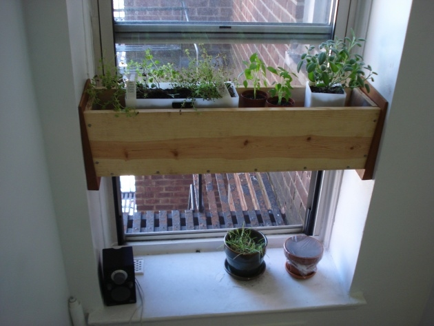 Splendid Window Sill Planter Box Photo