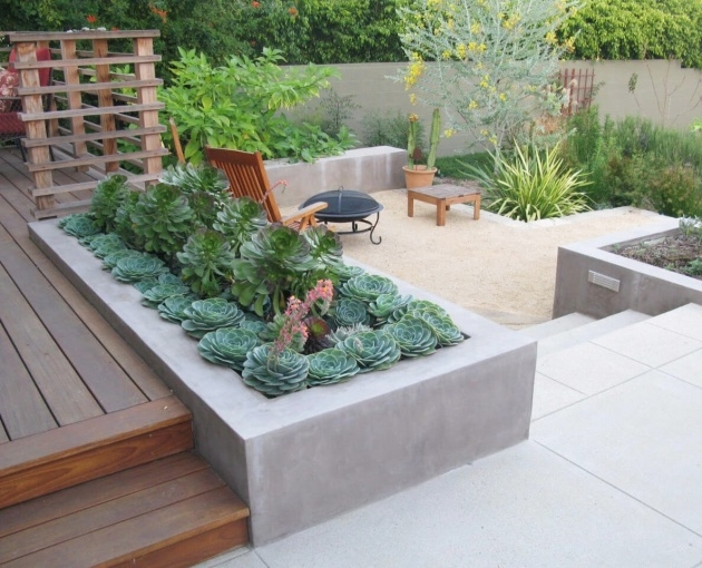 Stunning Patio Planter Ideas Picture