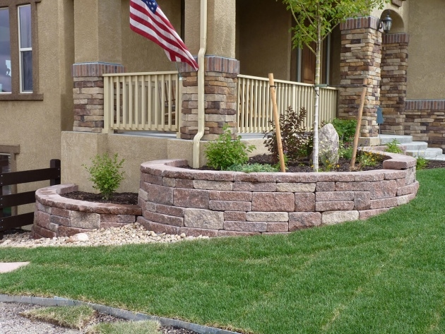 Stunning Stone Planter Box Designs Picture
