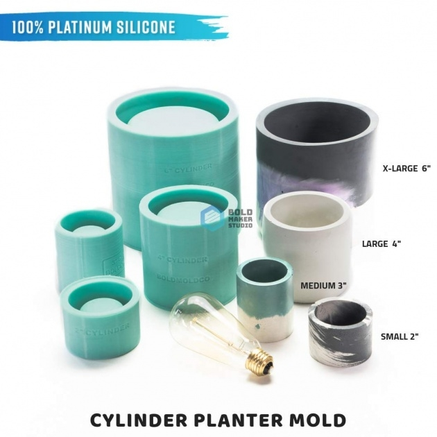 Stylish Concrete Planter Molds Picture