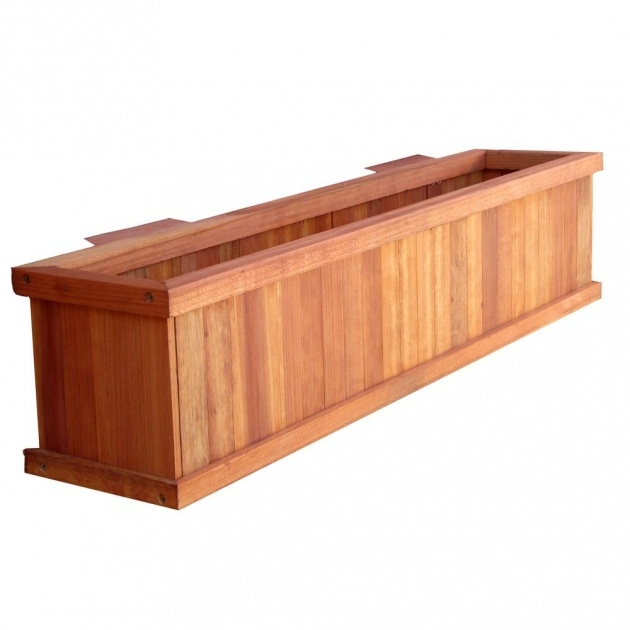 Stylish Deck Planter Boxes Image