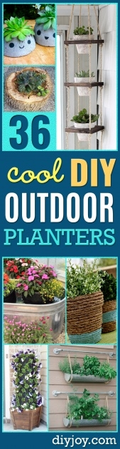 Stylish Diy Garden Planter Ideas Picture