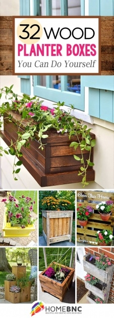Stylish Diy Pallet Planter Box Photo