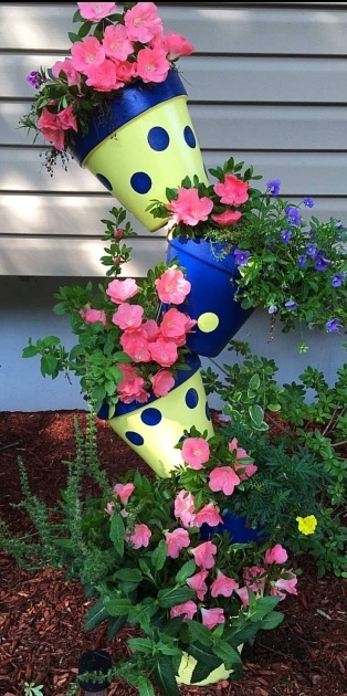 Stylish Flower Tower Planter Picture
