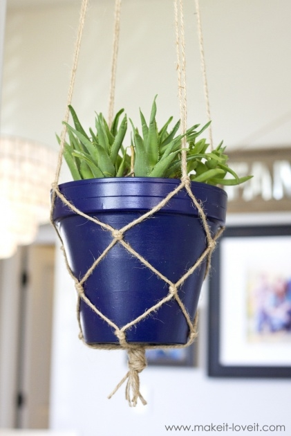 Stylish How To Make A Plant Hanger Picture