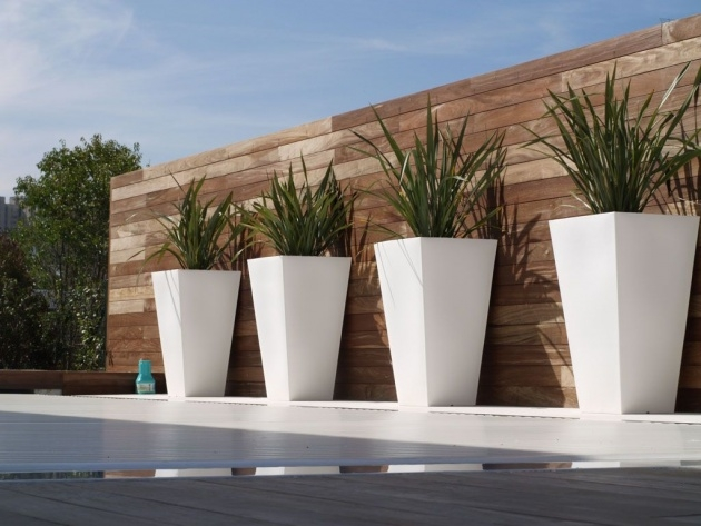 Stylish Modern Outdoor Pots And Planters Picture