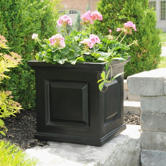 Stylish Outdoor Planter Photo