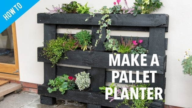 Stylish Pallet Planter Ideas Image