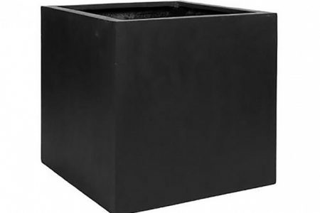 Black Square Planter