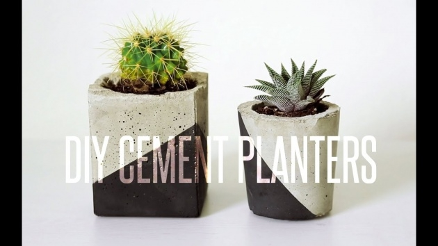 Super Cool Cement Planter Molds Picture
