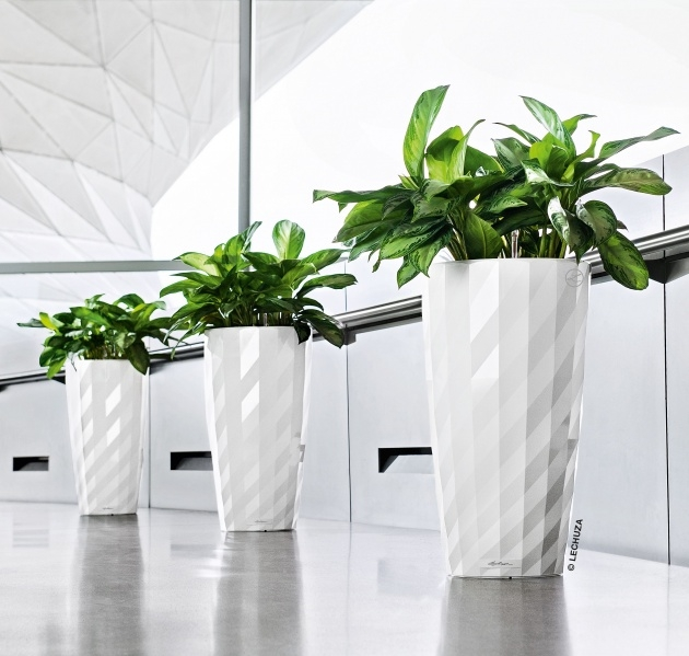 Super Cool Contemporary Indoor Planters Picture