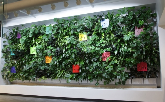 Super Cool Living Wall Panel Outdoor Planter Image