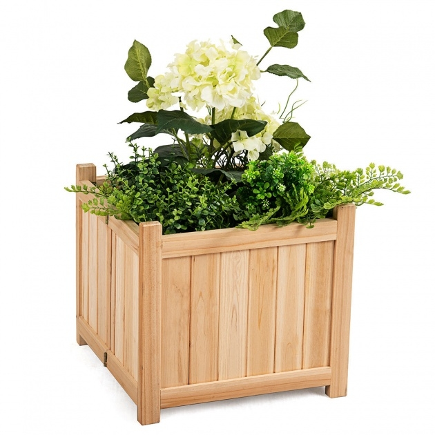 Super Cool Vegetable Planter Box Photo
