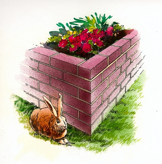 Surprising Brick Planter Box Image