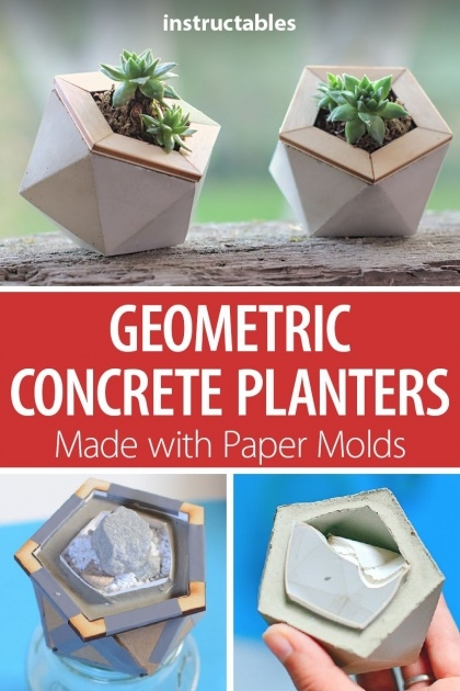 Surprising Cement Planter Molds Photo