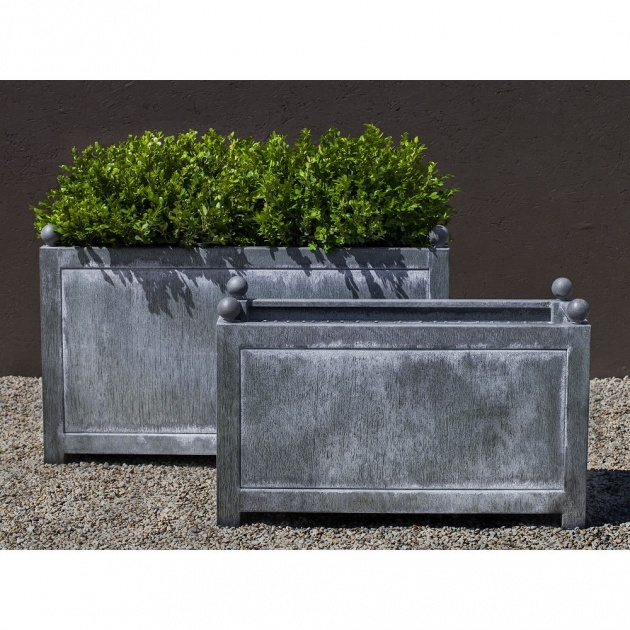 Surprising Metal Rectangular Planter Photo