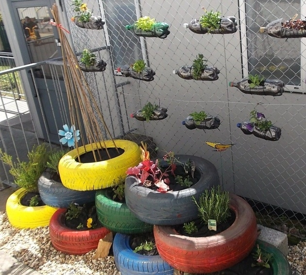 Surprising Recycled Planter Ideas Image