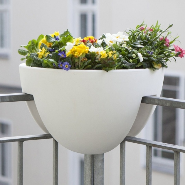 Top Balcony Planters Photo