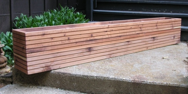 Top Contemporary Planter Box Picture