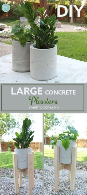 Top Diy Large Concrete Planters Picture