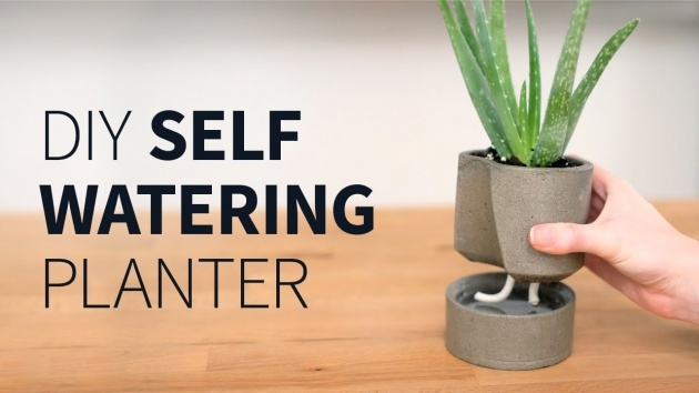 Top How To Make A Self Watering Planter Picture