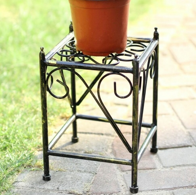 Top Iron Plant Stand Photo