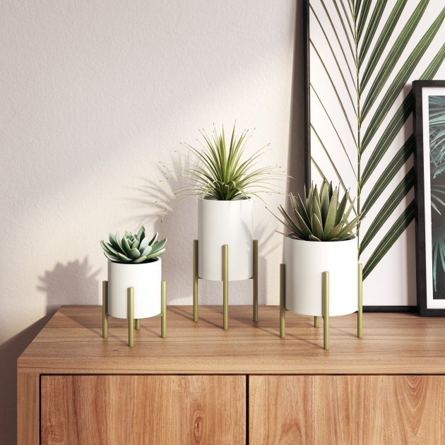 Top Mid Century Modern Planter Photo