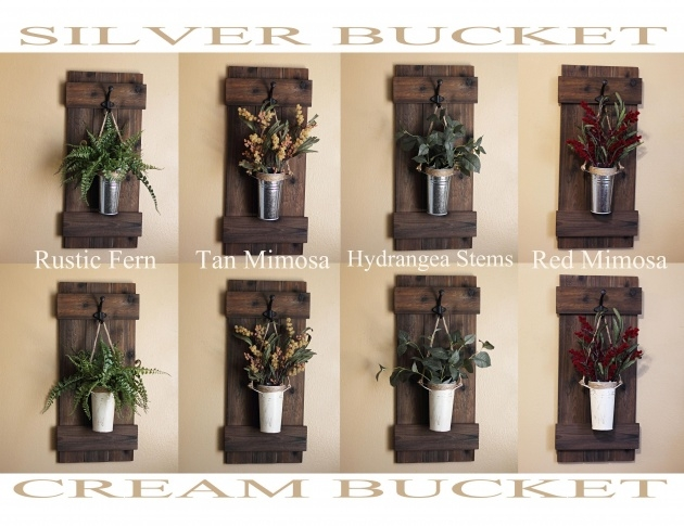 Top Rustic Wall Planter Image