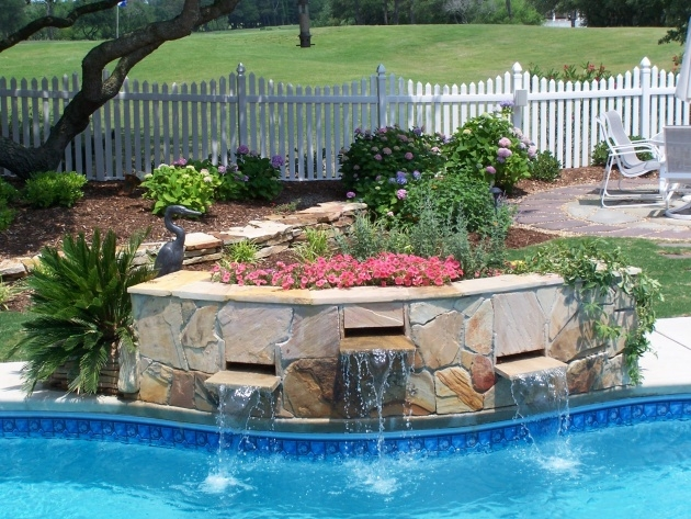 Top Swimming Pool Planters Photo