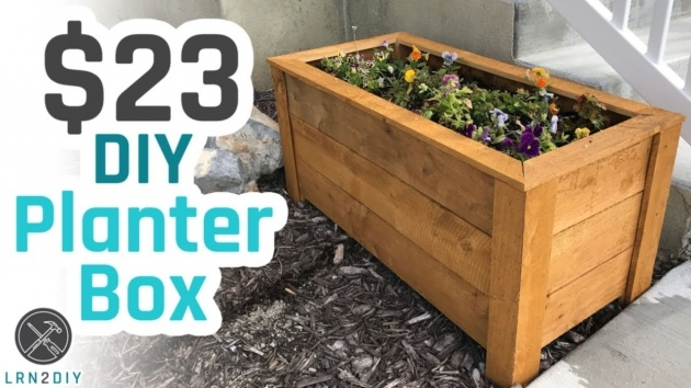 Top Wooden Planter Box Diy Image