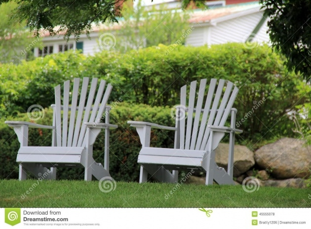 Wonderful Adirondack Chair Front Yard Picture