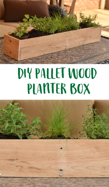 Wonderful How To Make A Planter Box Out Of Pallets Picture