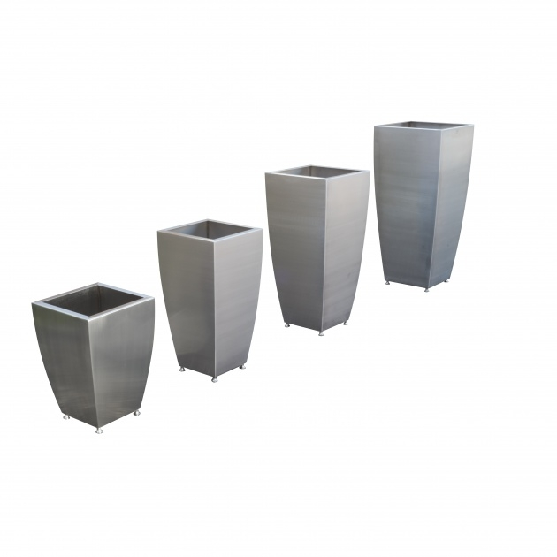 Wonderful Stainless Steel Planters Photo