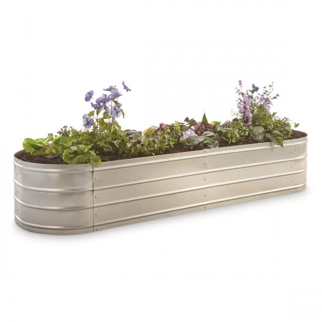 Amazing Galvanized Steel Planter Boxes Image
