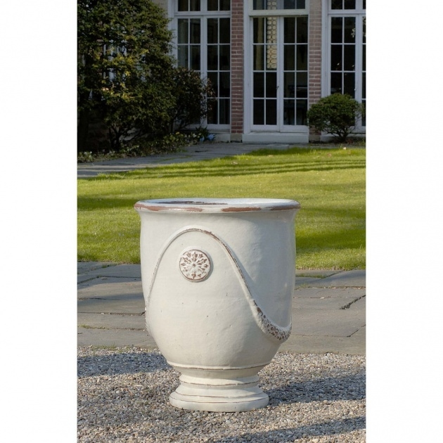 Amazingly Tall Ceramic Outdoor Planters And Urns Usa Image
