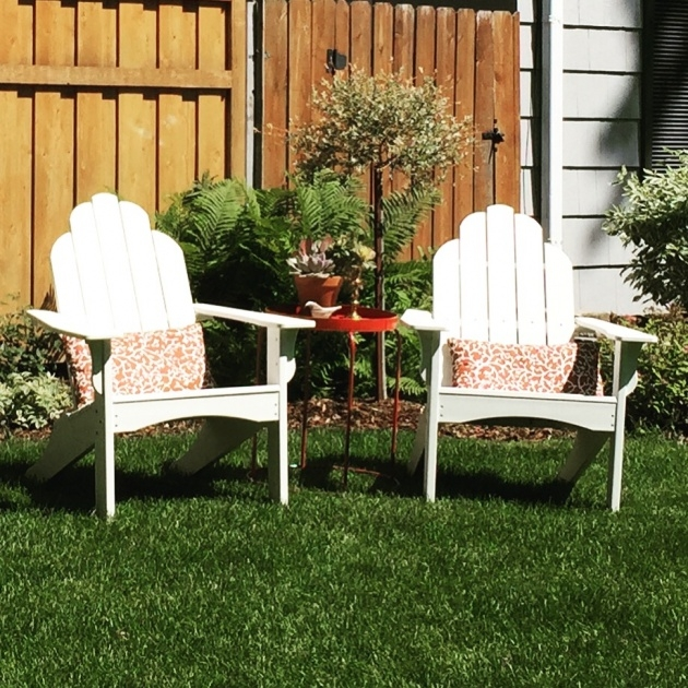 Awesome Adirondack Chair Front Yard Photo