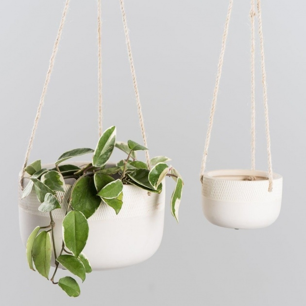 Awesome Ceramic Hanging Planter Picture