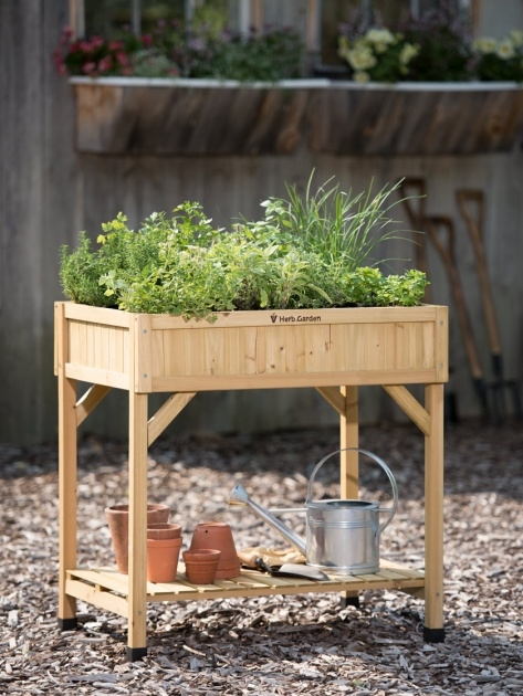 Awesome Herb Garden Planter Image