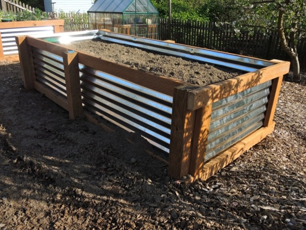 Best Cool Corrugated Metal Planters Image