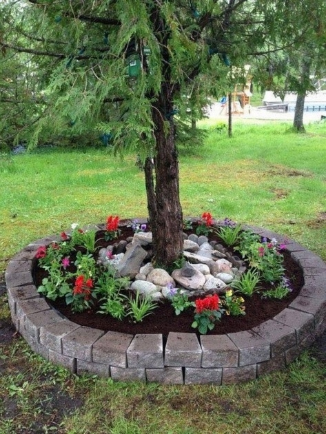 Best Cool Tree Ring Planter Ideas Picture